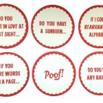 Pick Up Line Coasters